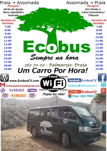 A3 Ecobus Poster